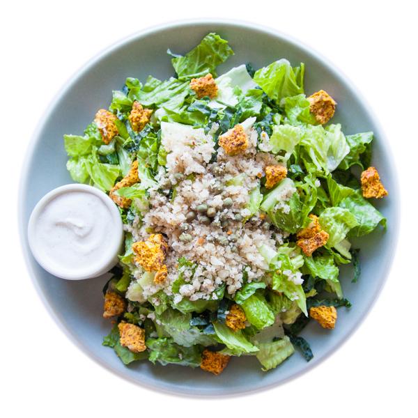 Caesar Cashew Salad
